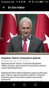 Turkish Newspapers apk screenshot