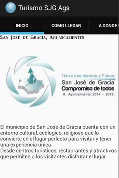 App Turismo San José de Gracia poster