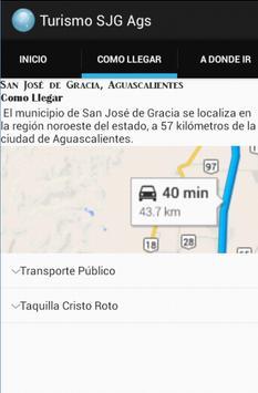 App Turismo San José de Gracia screenshot 1