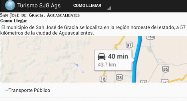 App Turismo San José de Gracia screenshot 3