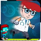 Adventure Dexter jumping run icon