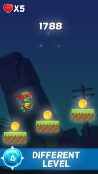 Turtles Ninja Shadow vs Alien apk screenshot