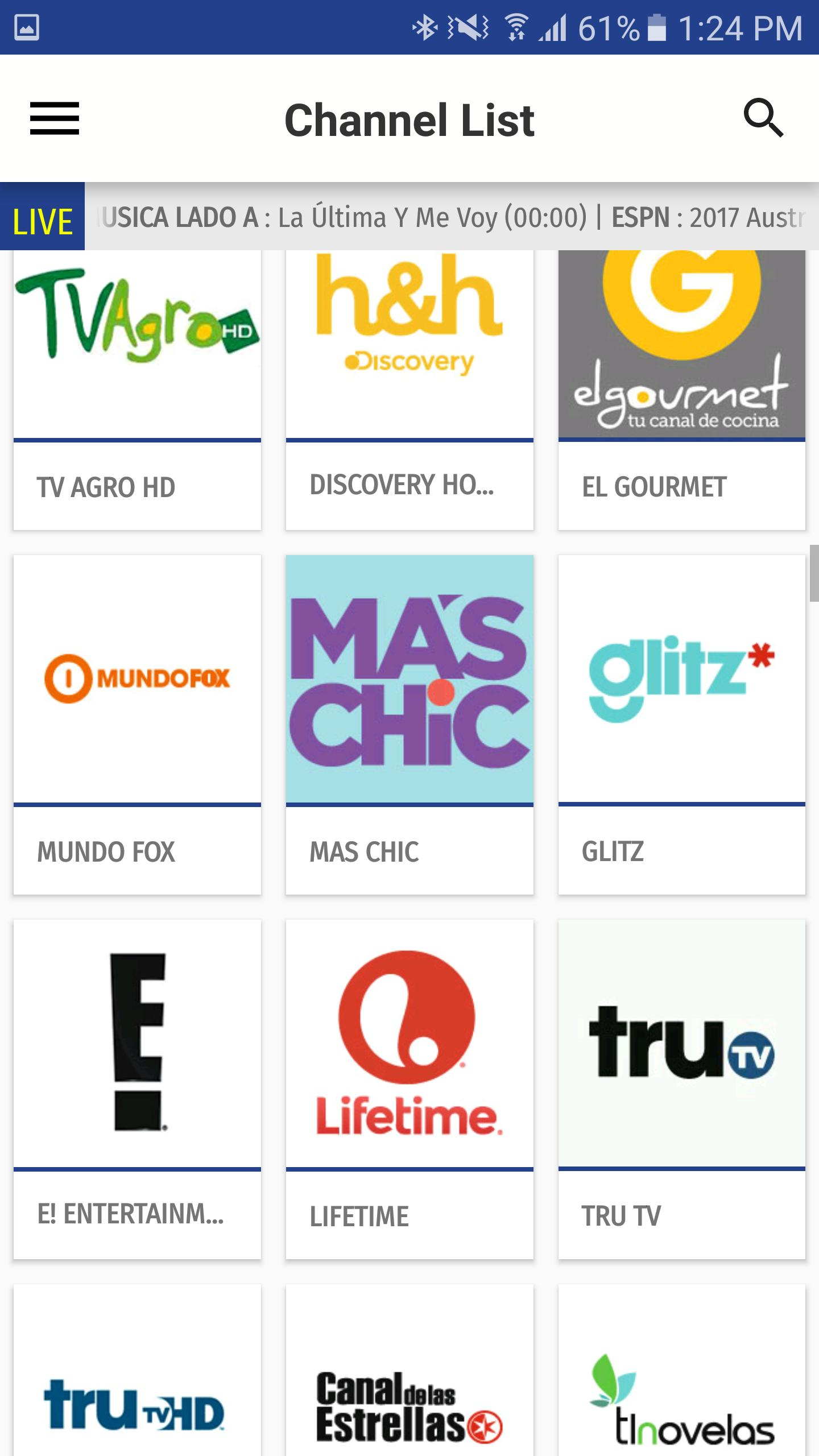 Colombia TV EPG for Android - APK Download
