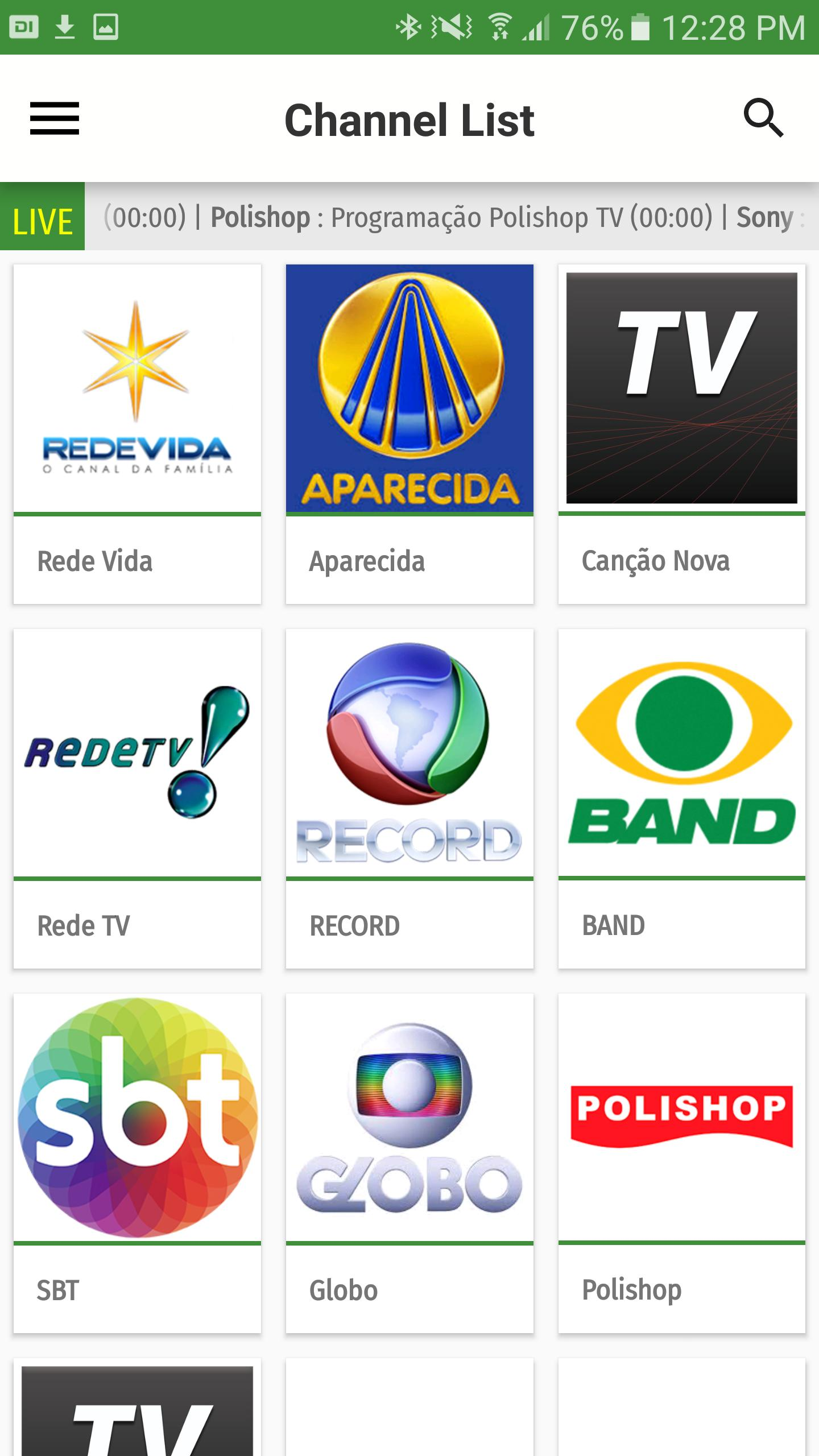 Brazil TV EPG for Android - APK Download