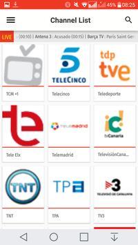 Spain TV EPG Free apk screenshot