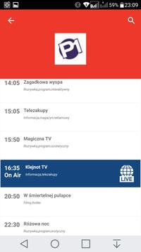 Poland Free TV Electronic Program Guide apk screenshot