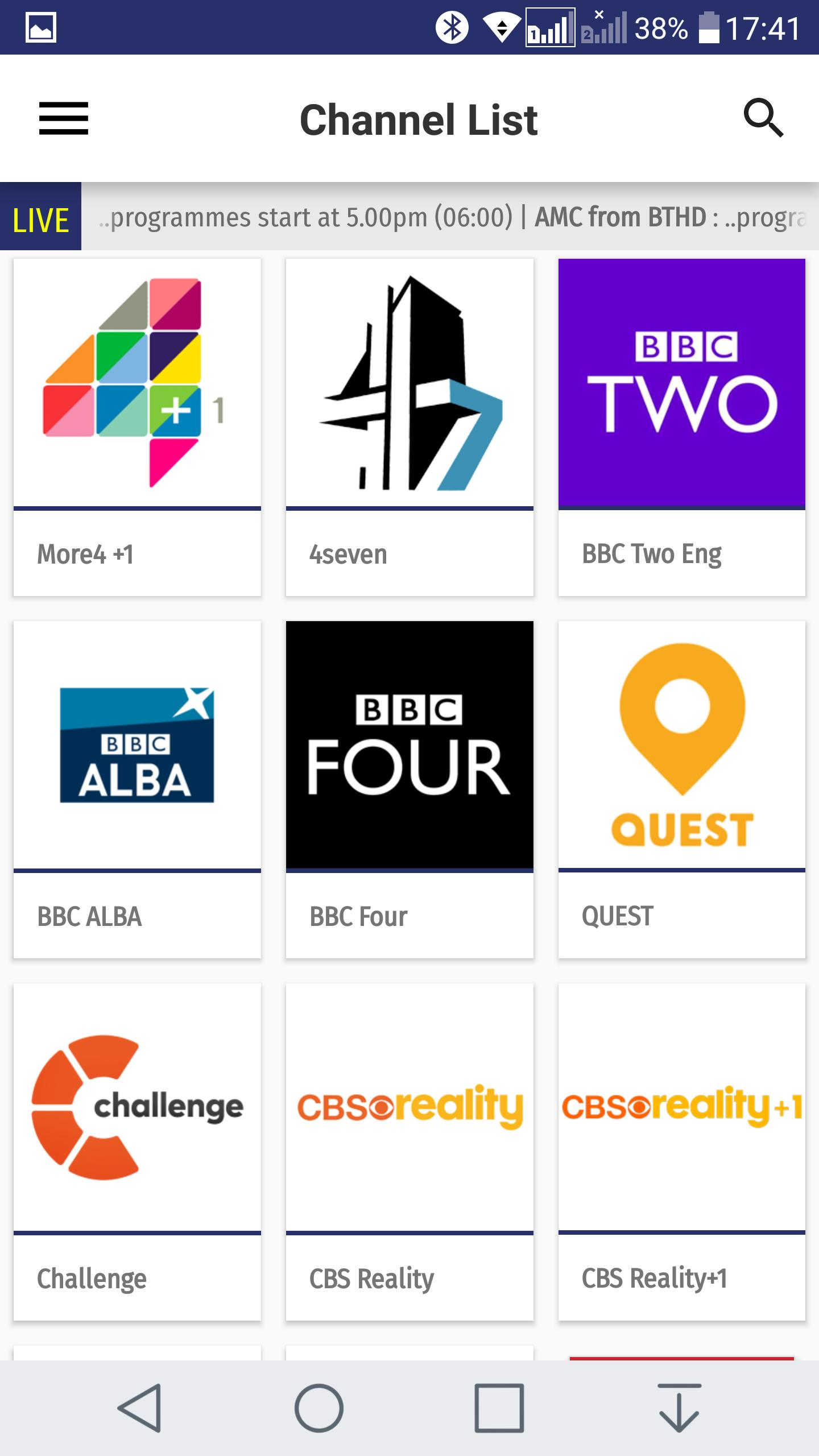 best free live tv apk with epg