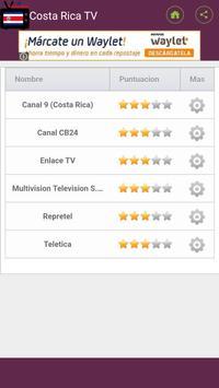 Canales de Television Costa Rica poster