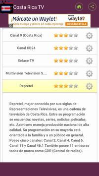 Canales de Television Costa Rica screenshot 1