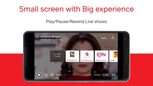 Airtel TV: Movies, TV series, Live TV apk स्क्रीनशॉट