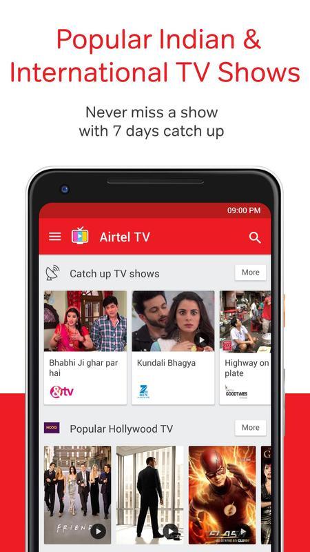 Airtel Tv Movies Tv Series Live Tv Apk Download Free