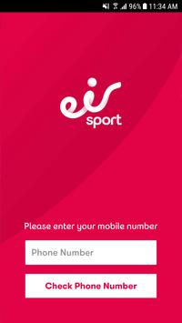 eir Sport Just Mobile poster