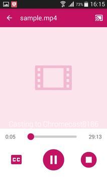BitX Cast Player apk screenshot