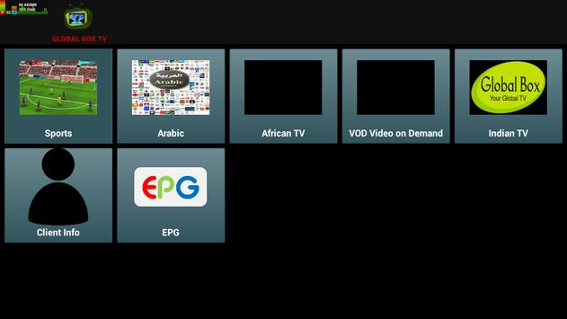 Global Box IPTV apk screenshot
