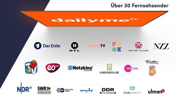 dailyme TV: Serien, Filme, Dokus aus dem Fernsehen screenshot 1