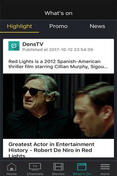 Dens.TV apk screenshot