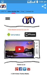 Osho Mobile TV apk screenshot
