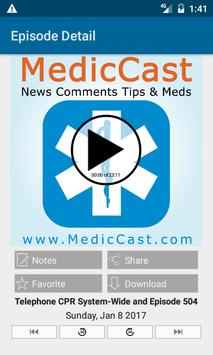 MedicCast EMS poster