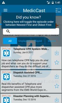 MedicCast EMS screenshot 1