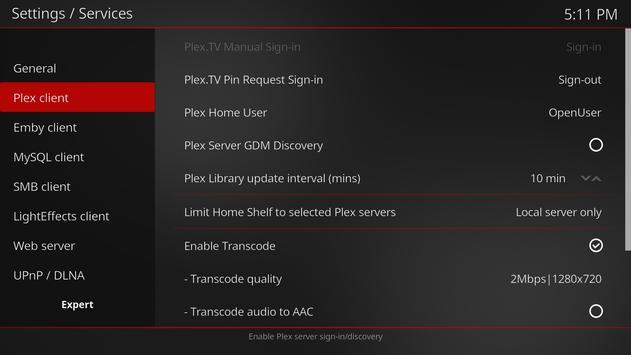 MrMC Lite screenshot 1