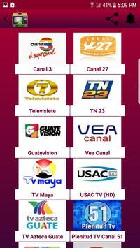 TV Canales Guatemala screenshot 1