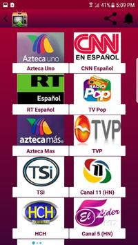 TV Canales Guatemala screenshot 2