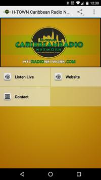 H-TOWN Caribbean Radio Network poster