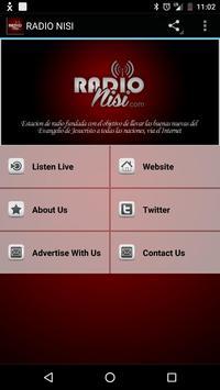 RADIO NISI poster