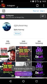 DJ DRU Radio apk screenshot