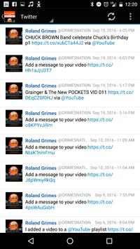 The ROLAND GRIMES Network screenshot 2