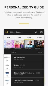 Peel Universal Smart TV Remote Control apk screenshot