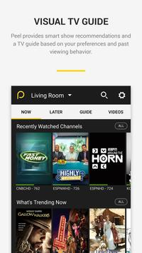 Peel Universal Smart TV Remote Control apk screenshot