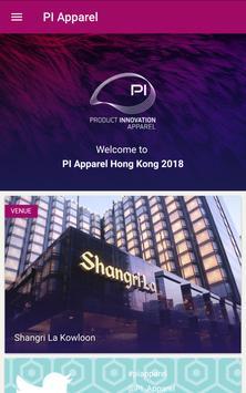 PI Apparel HK 2018 poster