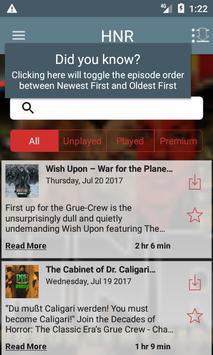 Horror News Radio screenshot 1