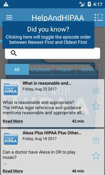Help Me With HIPAA apk screenshot