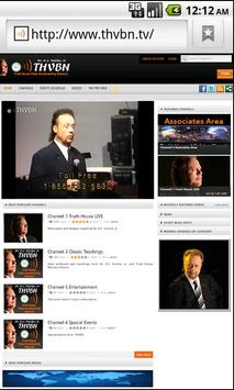THVBN TV screenshot 1