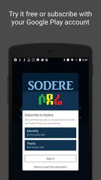 Sodere screenshot 2