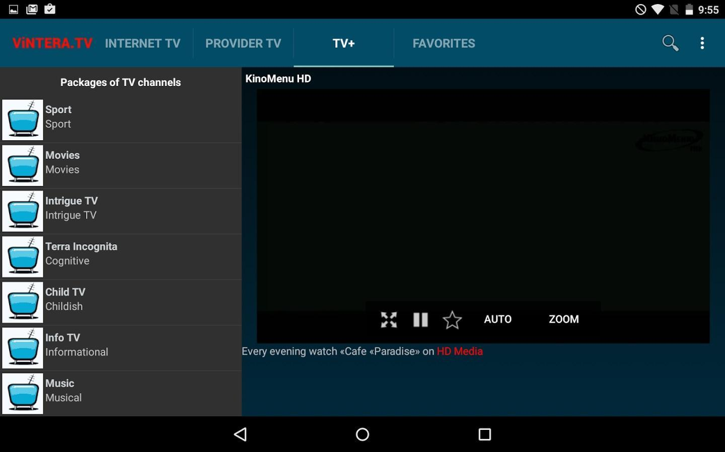 ViNTERA TV for Android - APK Download