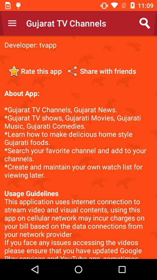 Gujarat TV Channels for Android - APK Download