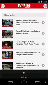 tvOneNews apk screenshot