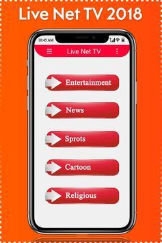 इंटरनेट के बिना TV  देखें: Live TV Streaming Guide screenshot 1