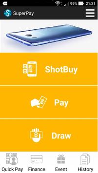 SuperPay E-Wallet poster