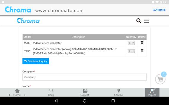 Chroma ATE - Turnkey Test & Automation Solutions screenshot 12