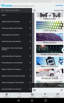 Chroma ATE - Turnkey Test & Automation Solutions screenshot 6