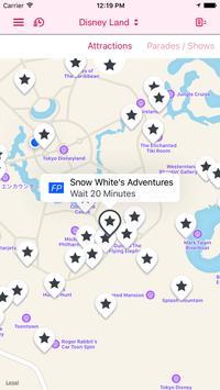 NoQ - Tokyo Disney wait times apk screenshot