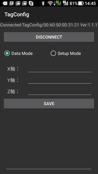 BLE Active RFID Tag configuration APP apk screenshot