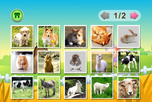 Kids Flashcards - Farm Animals apk screenshot