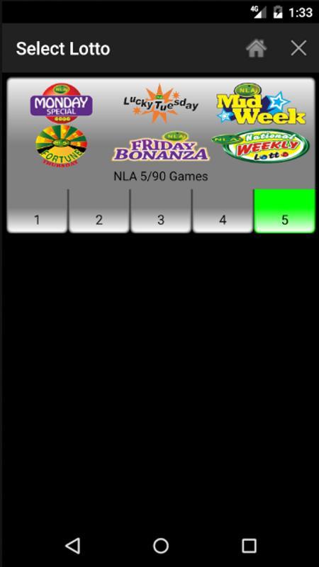 lotto number generator app iphone