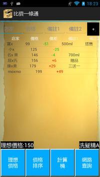 ComparePriceITT screenshot 1