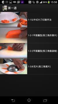 桃園創新技術學院-藝術蔬果雕(Moocs) apk screenshot